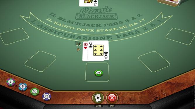 Blackjack Classico Gold