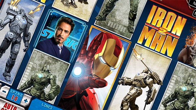 Ironman 2 50 linee Slot Machine