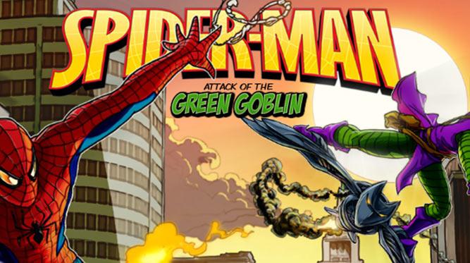 Spiderman Attack of the Green Goblin Slot