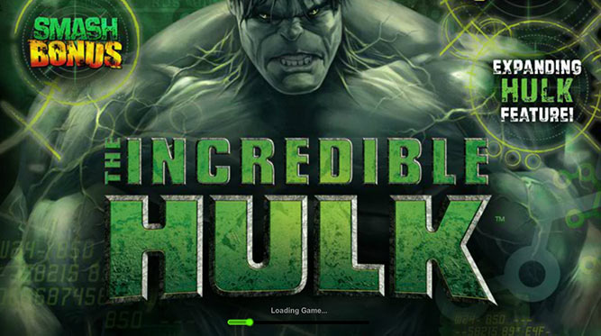 The Incredible Hulk Slot Machine