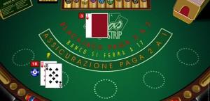 il blackjack Vegas Strip microgaming