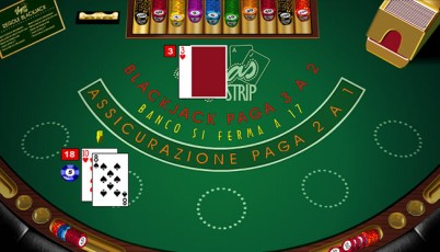 il blackjack Vegas Strip microgaming