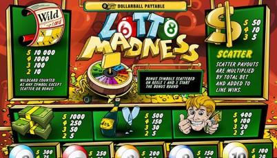 la slot machine lotto madness