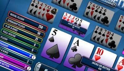 video poker jacks or better multi-mano